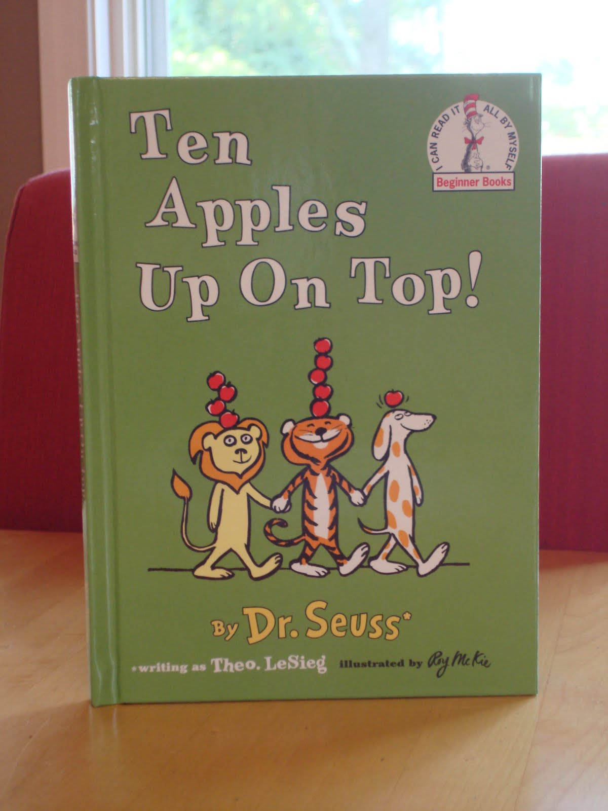 ten apples up on top - Ten Apples Up On Top Coloring Pages