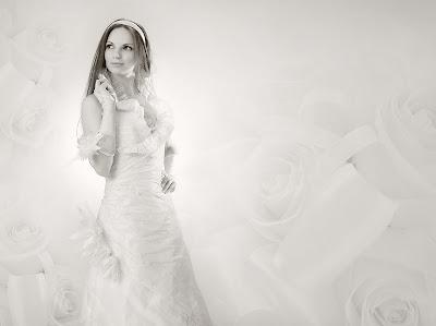 Свадебное фото: невеста