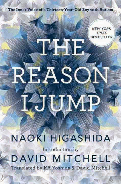 UK book cover of The Reason I Jump by Naoki Higashida