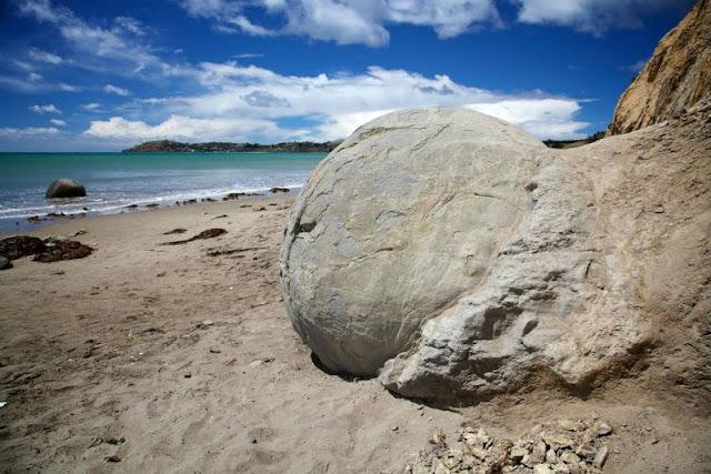 Las Misteriosas Rocas de Moeraki