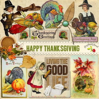 Happy Thanksgiving Collection & Freebie