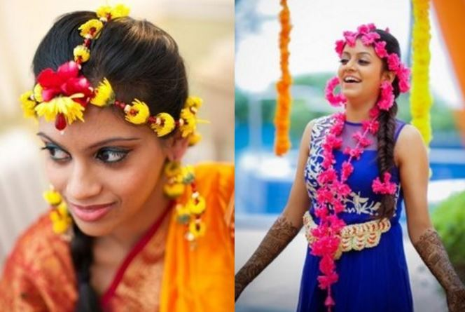 I Bridal Mehndi Jewellery : A guide into flaunting floral jewelry on your mehendi bling sparkle