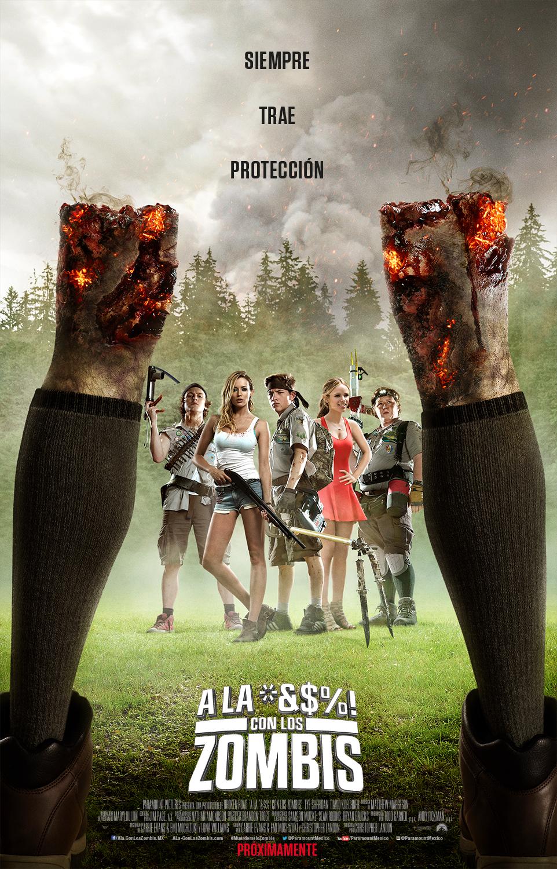 """A La """"M"""" Con Los Zombies (V.O.S) (2015)"""