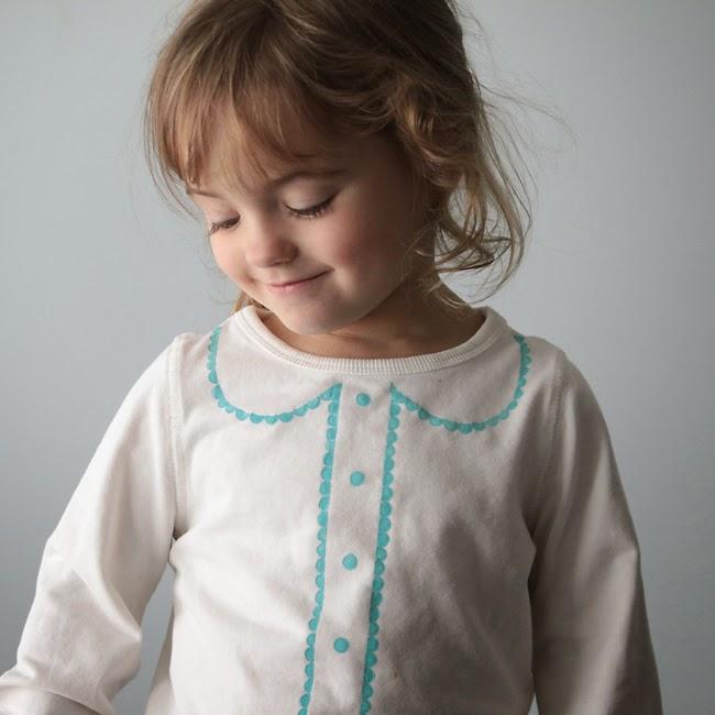 diycamiseta niña pintada