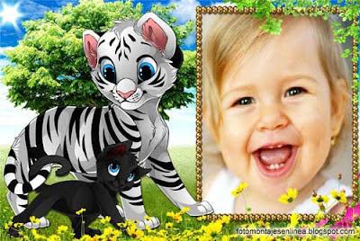 fotomontaje infantil