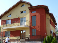 Fatada Casa Culori, Firma Design, Arhitect, Designer, Firma Constructii Bucuresti,  Termosistem, Aplicare Tencuiala Decorativa, LIVRARE GRATUITA