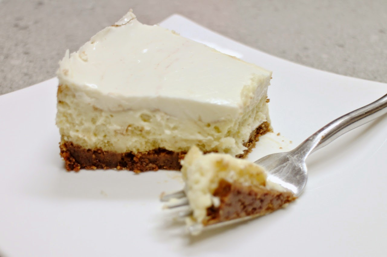 ... -Coated Chronicle: Spiced Cheesecake with Vanilla Sour Cream Topping