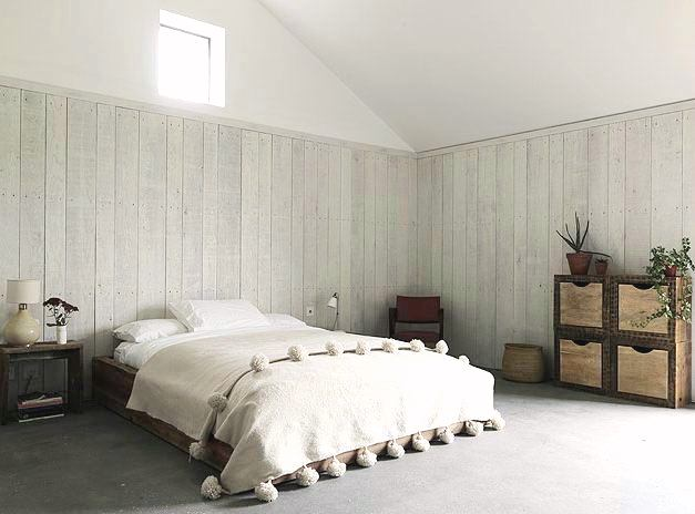 An old horse barn gets a modern design kick nbaynadamas How to cover old wood paneling