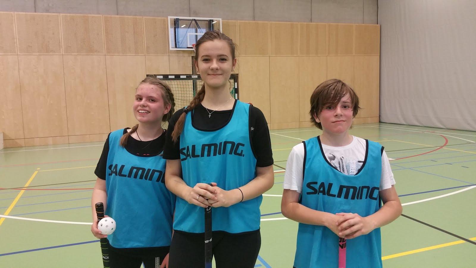 Simone, Julija und Matthias