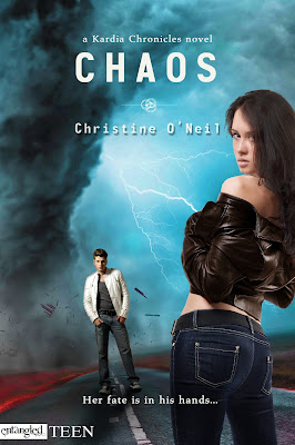 Cover Reveal, Excerpt & Giveaway: Chaos by Christine O'Neil