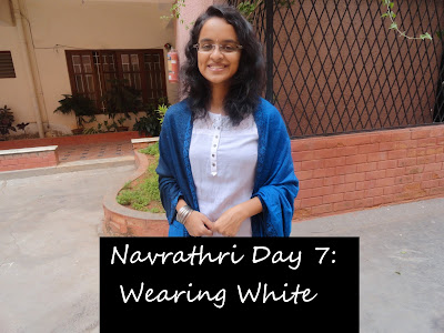 Navrathri Day 7: Wearing white for the festive season image
