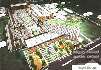 arsitek master plan lombok epicentrum square