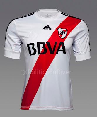 Camiseta Titular River Plate 2012-2013 Adidas