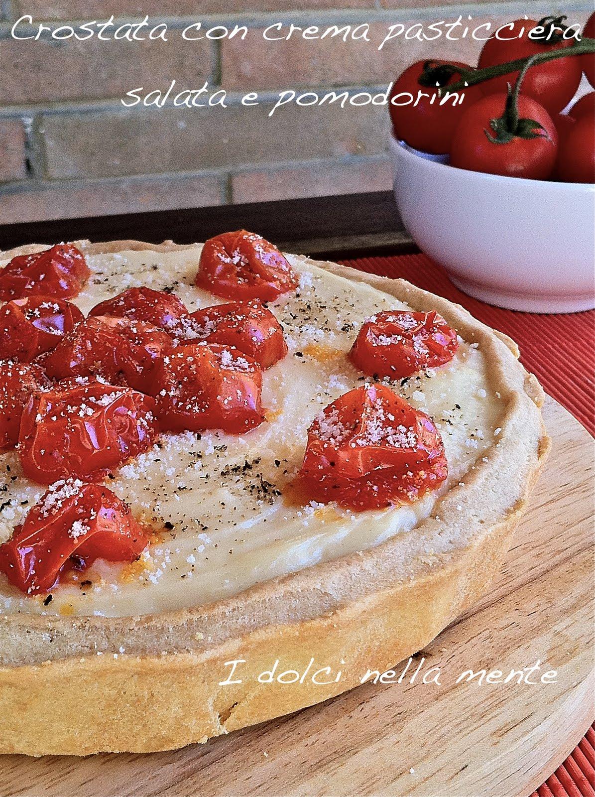 Dal dolce al salato crostata con crema pasticciera salata - Dolce forno gioco ...