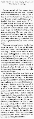 Was Seen in The Early Dawn (1 & 2) - Kearney Daily Hub (Kearney Nebraska) 3-11-1897