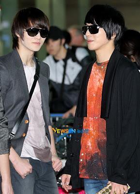FT Island e CNBLUE juntos no aeroporto de Incheon 20110311_cnblue