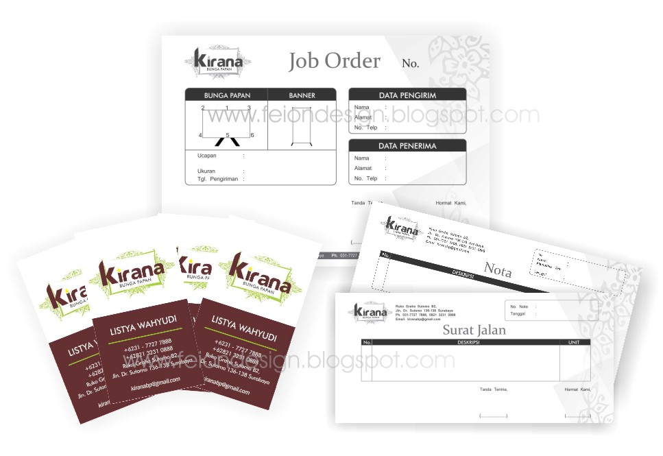Kirana - Bunga Papan dan Banner Ucapan | The Essence of Design