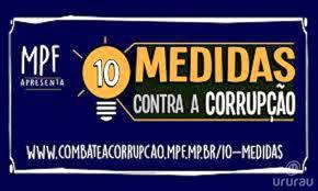 CONTRA A CORRUPÇÃO!