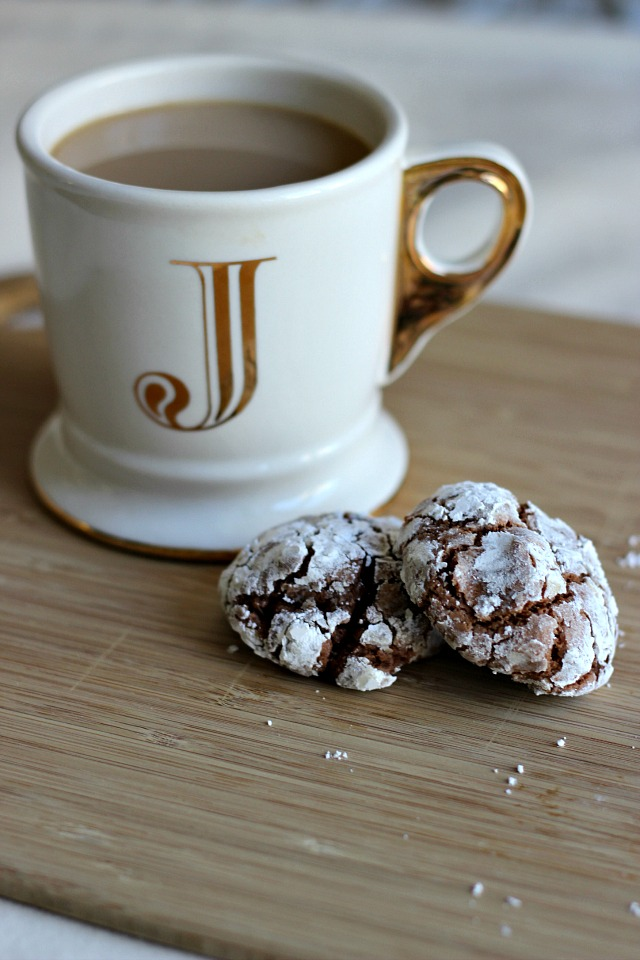 Nutella Crackle Cookies | York Avenue