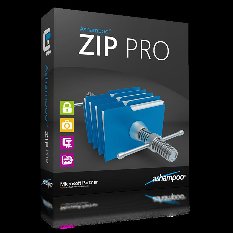 Ashampoo ZIP PRO v1.0.0 incl Crack