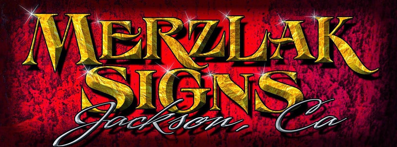 Merzlak Signs - Jackson