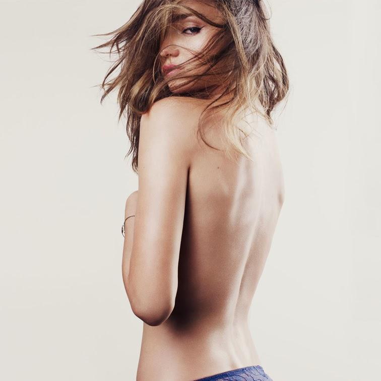 Miranda Kerr for Esquire December 2012 photographed by David Slijper