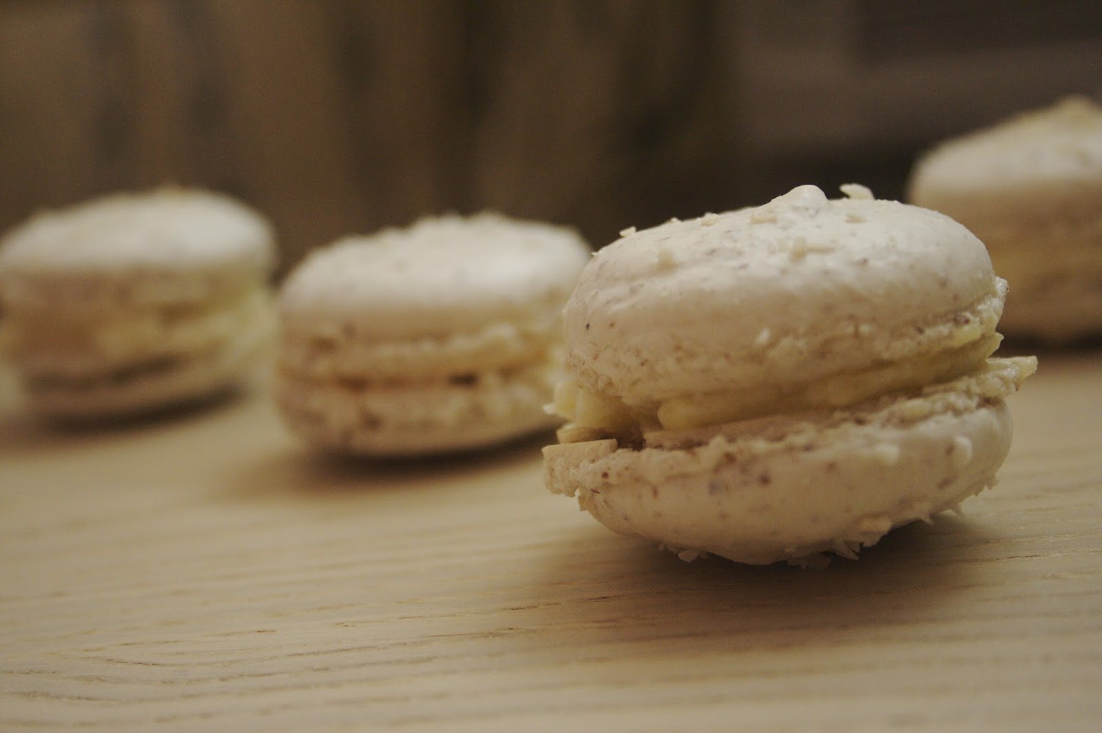 a full life chocolate coconut french macarons