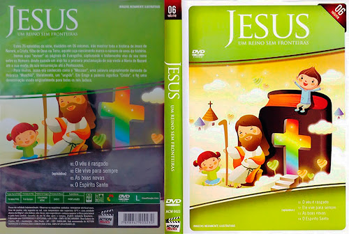 Jesus - Um Reino Sem Fronteiras Vol. 6 - DVD-R