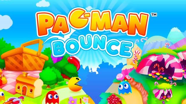 Pac-Man Bounce