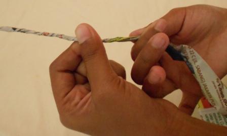 Kerajinan Tangan: Kerajinan tangan dari kertas - keranjang permen