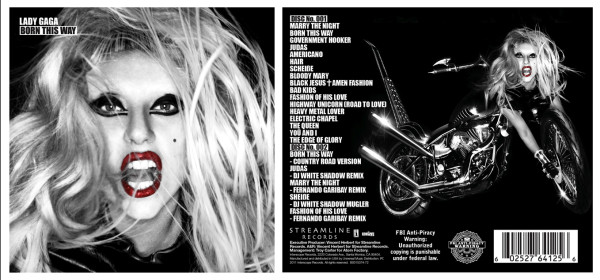 lady gaga born this way album cover hq. hair pictures Album Art: Lady
