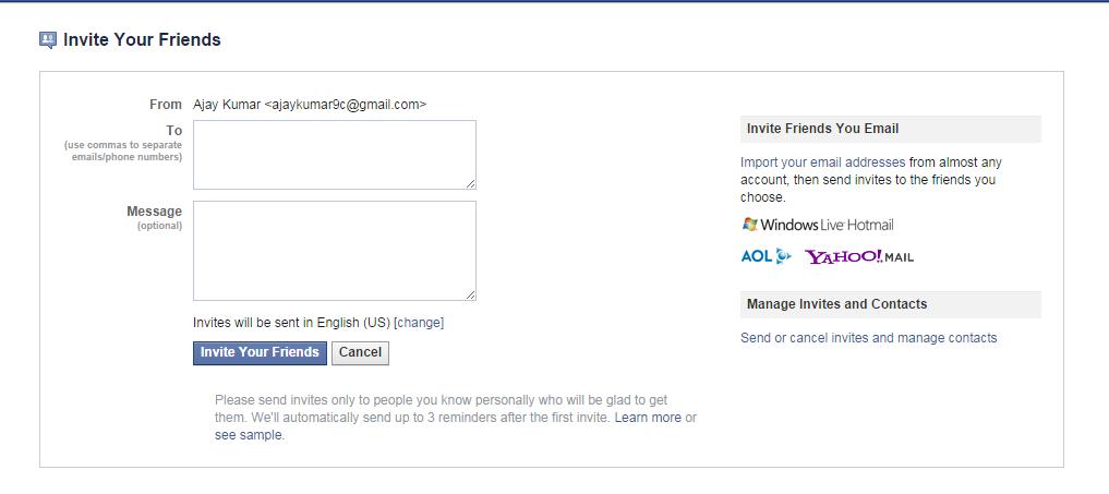 Make 5000 Facebook Facebook Friends