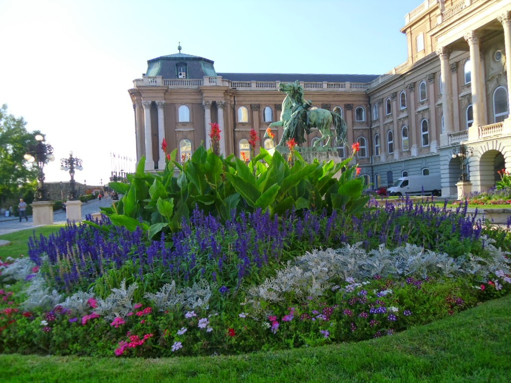 O Palácio Real Budapeste