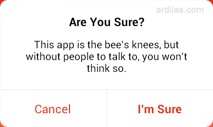 Cara Mendaftar / Membuat Akun di Aplikasi Path Talk - Android - I'm sure