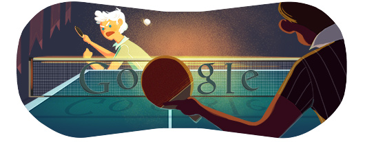 Google Doodles - Olympic Table Tennis 2012