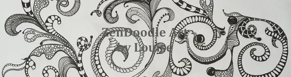 ZenDoodle Art by Louise