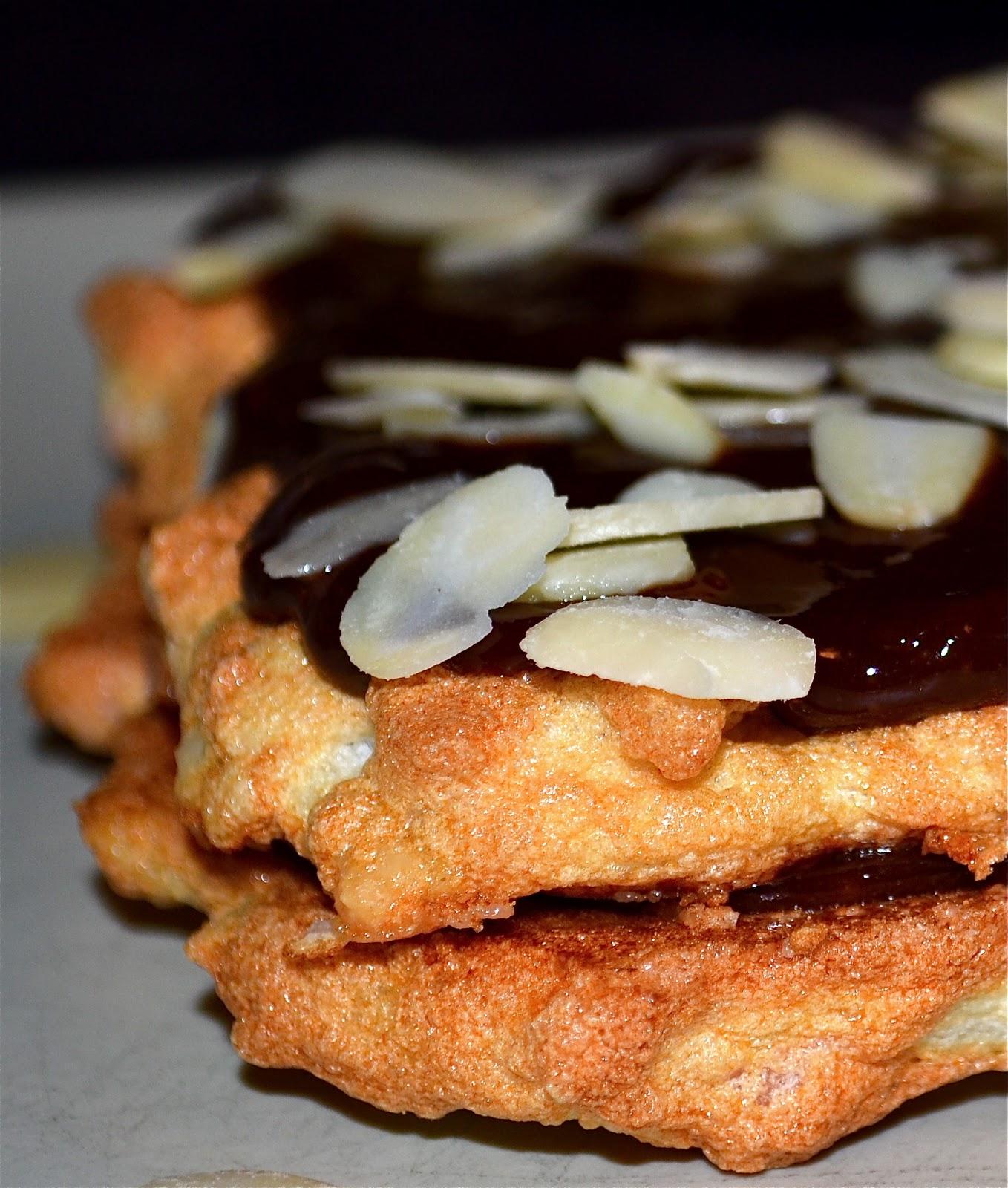 tårta mandelmassa choklad