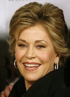 Hairstyles Jane Fonda.