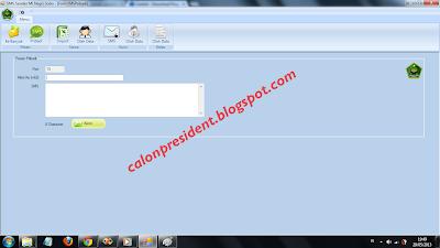 contoh aplikasi sms gateway  - sender C#