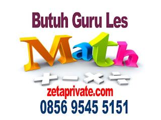 guru les privat matematika SD ke rumah jakarta selatan