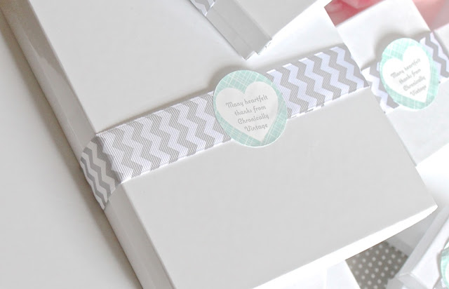 ChronicallyVintage Etsy shop - packaging close-up