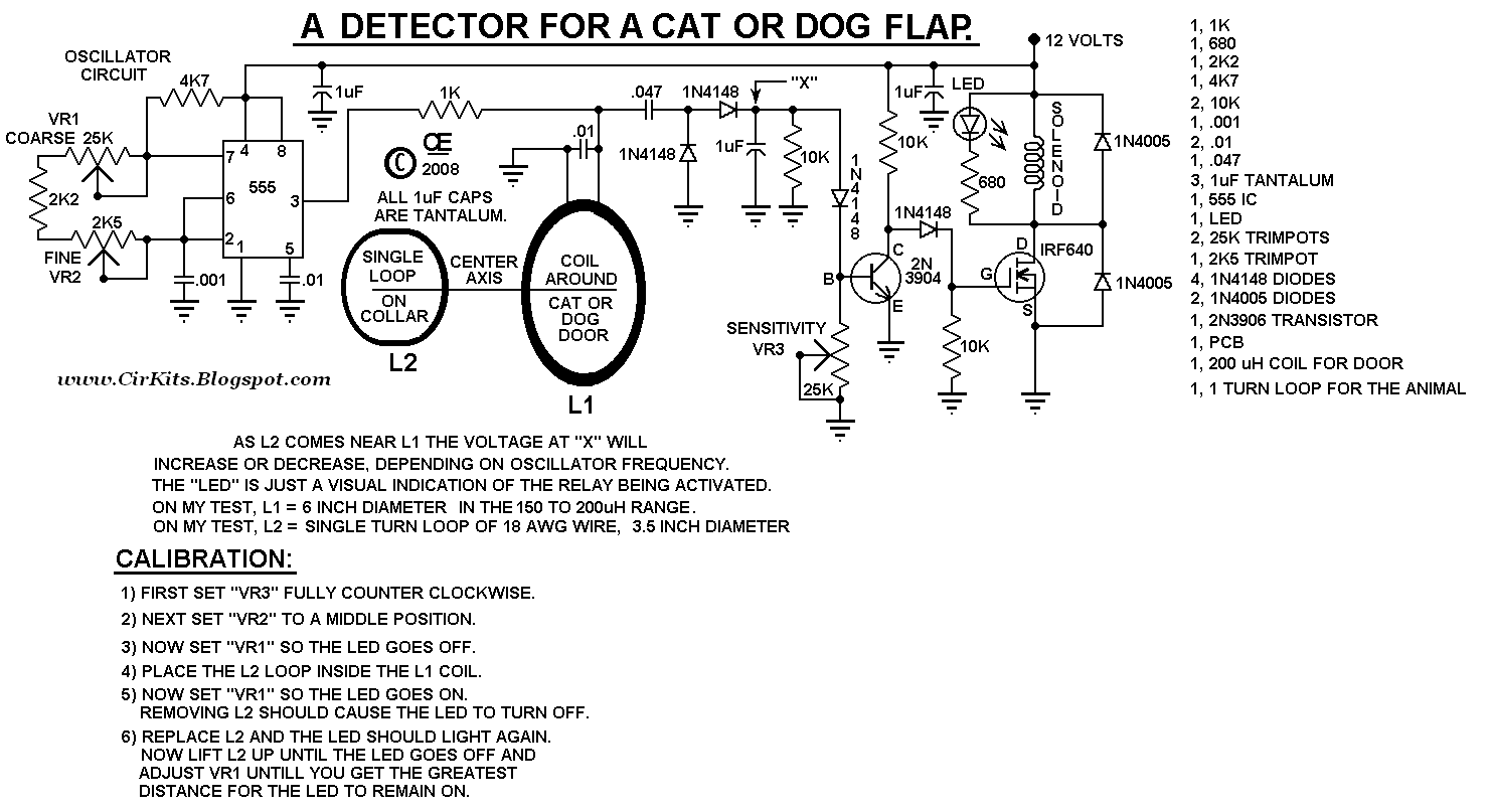 December 2012 Everyday Electronics Active Fm Antenna Amplifier By C2570 This Can Be Used To Control Entry On A Cat Or Dog Door The Main Advantage Of Unit Is It Does Not Require Any Battery Animal