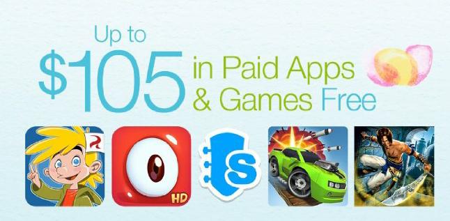 Consigue apps y juegos por valor de más de 100€ con la tienda de aplicaciones de Amazon.