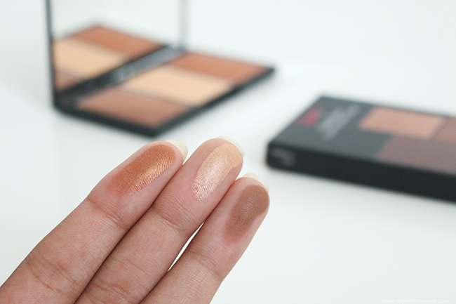 Sleek Face Form Contouring & Blush Palette in Medium Swatches