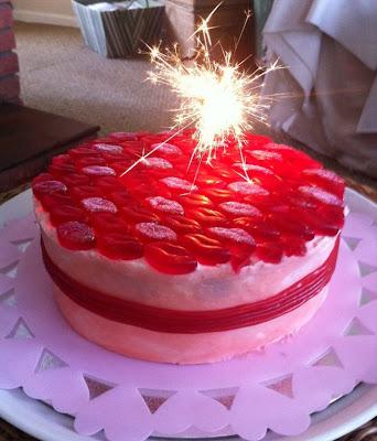 Strawberry Sweetie Birthday Cake Recipe