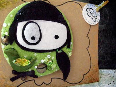 broche personalizado foltys vs pio pio: Sara (100% handmade with ♥)