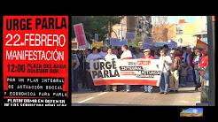 Manifestación URGE PARLA