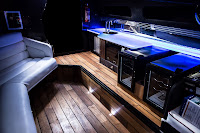 London Motor Group first powerboat customisation: Project Noire interior 2