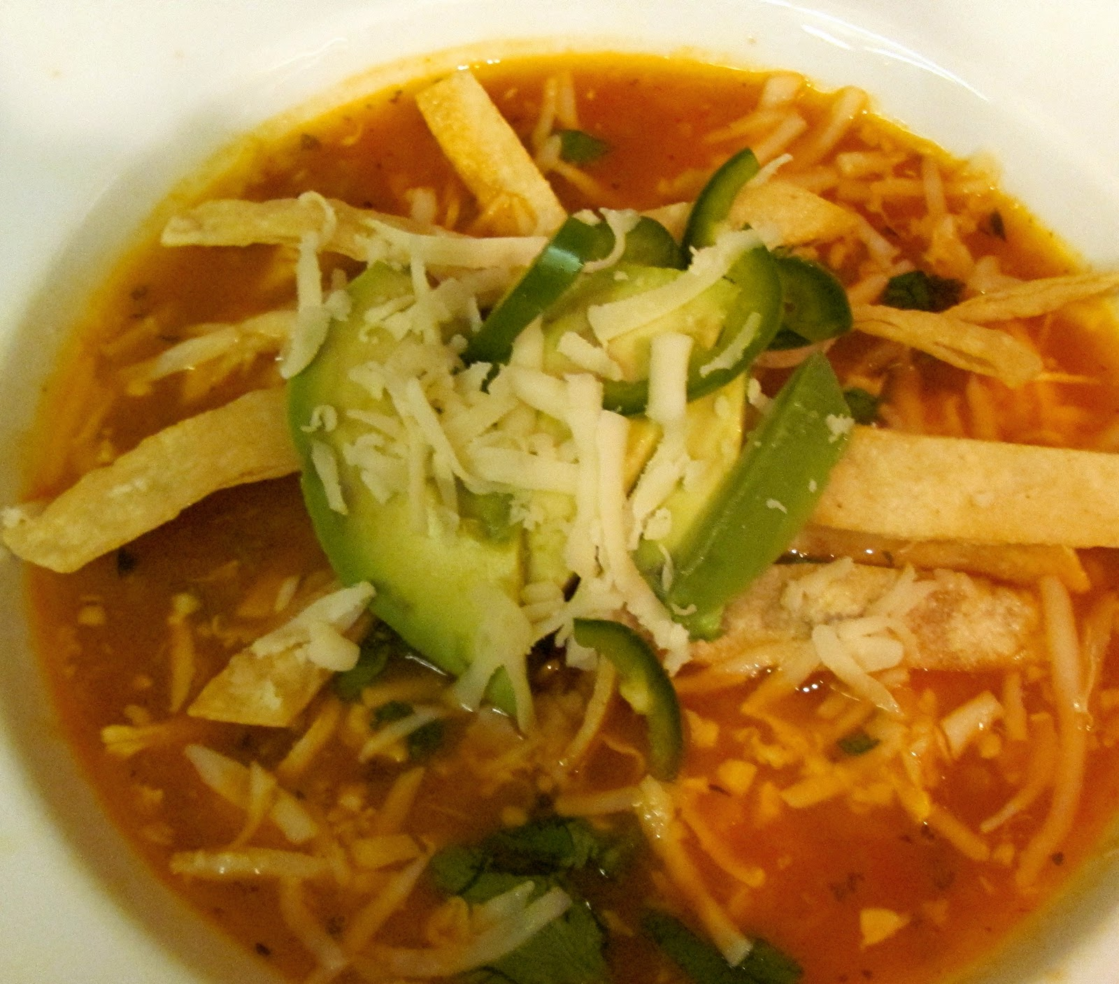 Chicken Tortilla Soup Recipe ~ Drick's Rambling Cafe