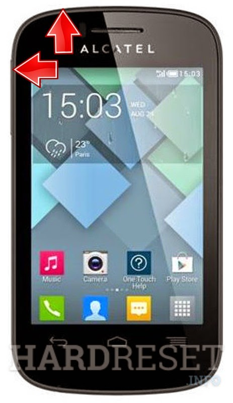 Hard Reset Alcatel One Touch Pop C1(4015X)